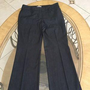 Ann Taylor Loft Julie Dress Pants Size 4 Blue/Grey